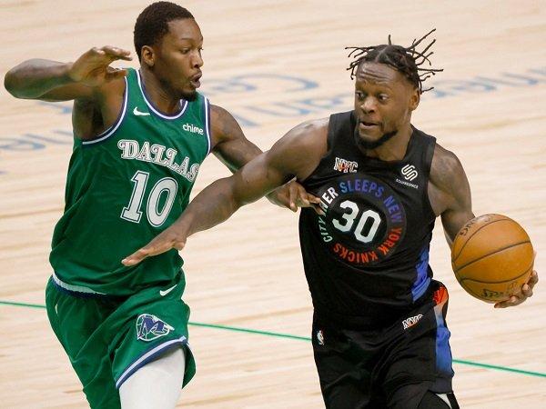 Julius Randle ungkap rahasianya bisa tampil garang kala jumpa Dallas Mavericks.