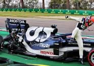 Yuki Tsunoda Akui Kesalahan Dirinya Saat Kualifikasi GP Emilia Romagna
