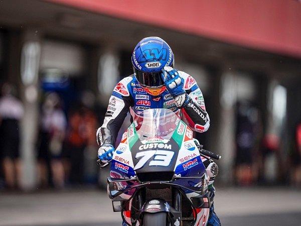 Alex Marquez frustasi kalah saing dari kakaknya di GP Portugal.