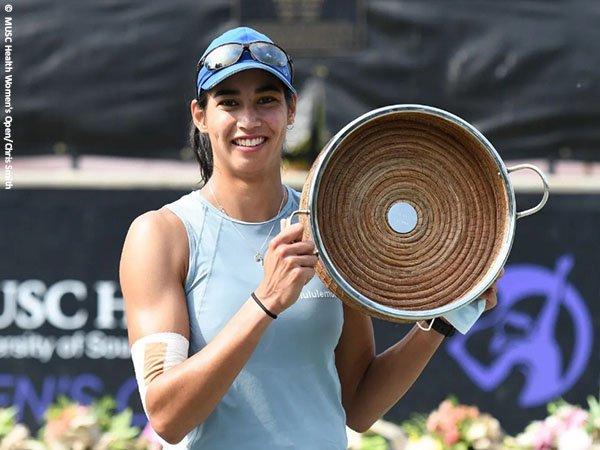 Astra Sharma menjadi juara di MUSC Health Women's Open, Charleston musim 2021