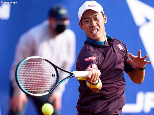 Kei Nishikori melangkah ke babak kedua Barcelona Open 2021