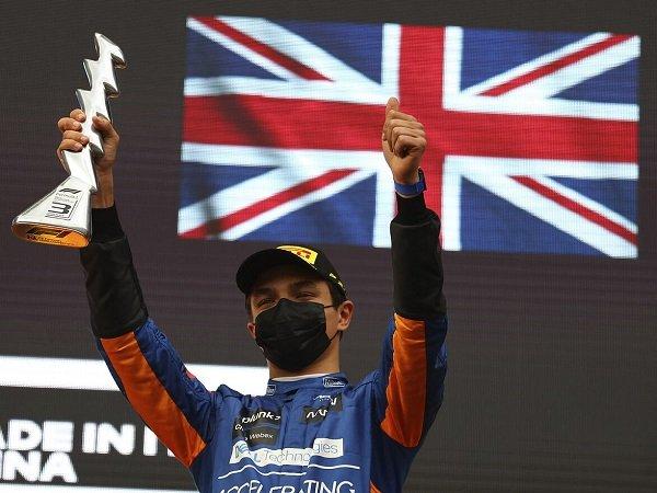 Lando Norris puas McLaren alami peningkatan pesat musim ini.