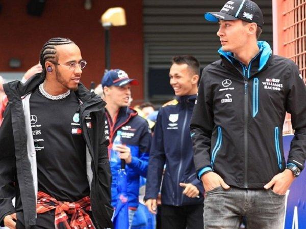 George Russell, Williams, Lewis Hamilton, Mercedes