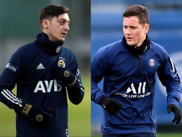 Mesut Ozil dan Ander Herrera mengecam European Super League
