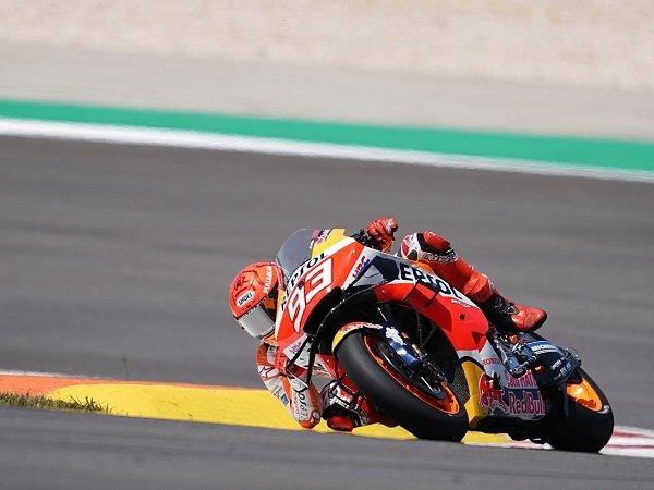 Repsol Honda apresiasi kerja keras Marc Marquez saat comeback di GP Portugal.