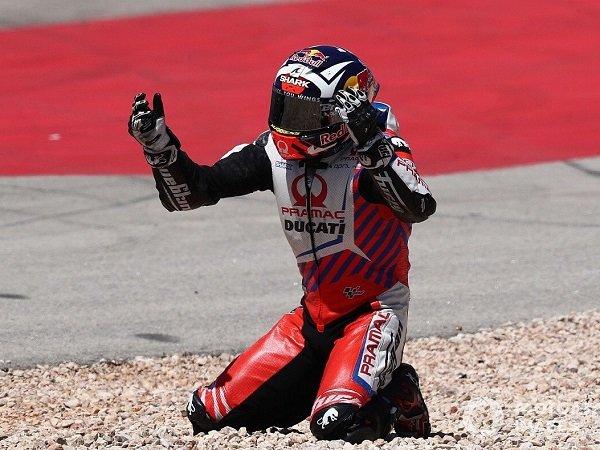 Johann Zarco terjatuh di GP Portugal karena kesalahannya sendiri.