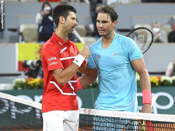Novak Djokovic [kiri] telah bertemu Rafael Nadal [kanan] dalam 56 kesempatan