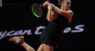Aryna Sabalenka Hantam Zhang Shuai Di Stuttgart Open