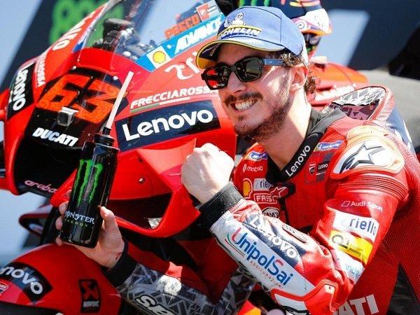Bos Ducati puji kerja keras Francesco Bagnaia untuk bisa bersinar sebagai pebalap top.