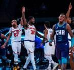 Knicks Raih Tujuh Kemenangan Beruntun dengan Melibas Hornets