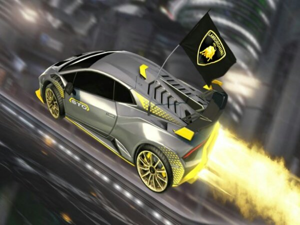 Lamborghini Jadi Sponsor untuk Dua Turnamen Rocket League