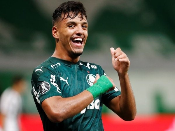 Gelandang muda Palmeiras yaitu Gabriel Menino, masuk menjadi daftar buruan Chelsea di bursa transfer musim panas / via ESPN