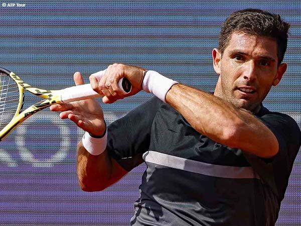 Federico Delbonis lolos ke perempatfinal Serbia Open 2021