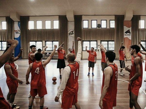 Timnas Basket Indonesia sedang latihan. (Image: IBL)