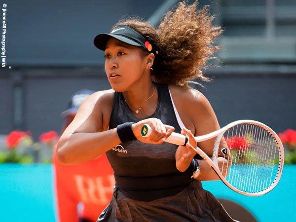 Naomi Osaka melaju ke babak kedua Madrid Open 2021