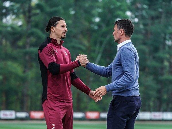Zlatan Ibrahimovic dan Paolo Maldini