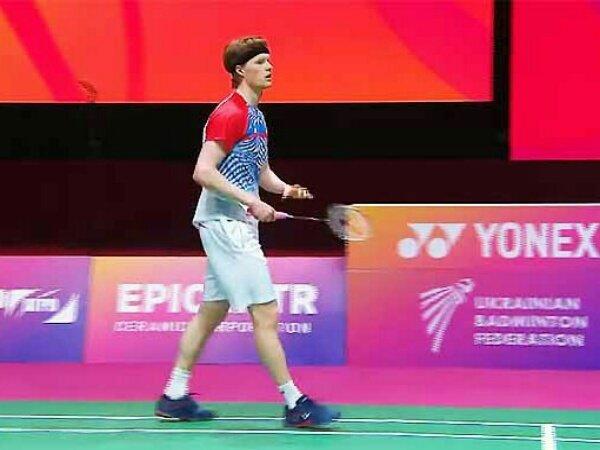 Denmark Kuasai Semifinal Sektor Tunggal Putra di Kejuaraan Eropa 2021