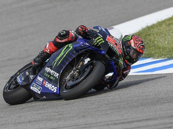 Fabio Quartararo catatkan waktu terbaik di sesi FP4 MotoGP Spanyol.