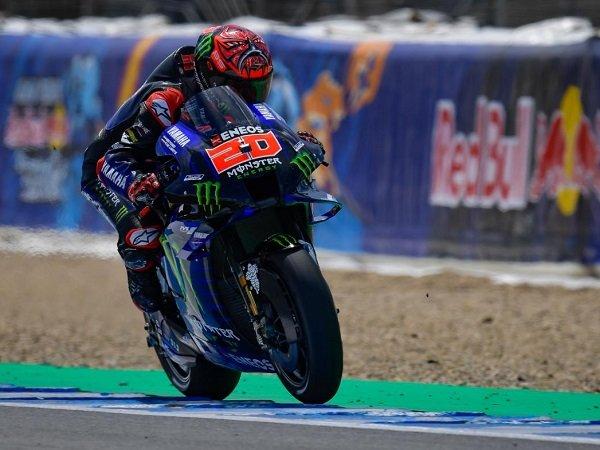 Fabio Quartararo catatkan waktu terbaik di kualifikasi GP Spanyol.