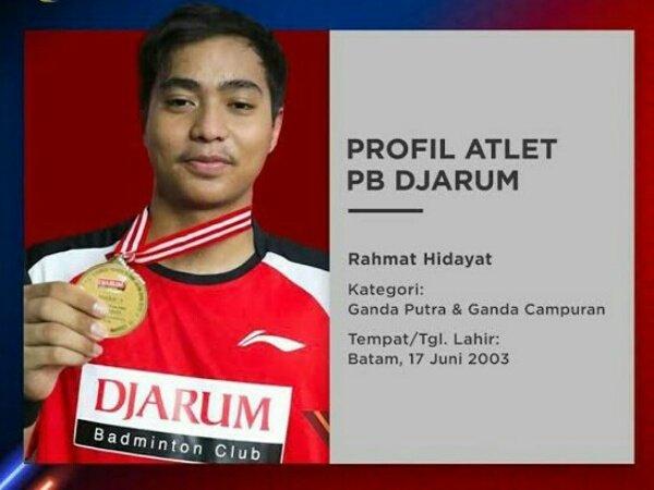 Rahmat Hidayat, Talenta Muda Terbaik Asia Asal Indonesia