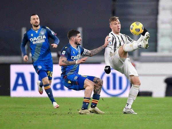 Juventus hadapi Udinese dalam laga berikutnya di Serie A.