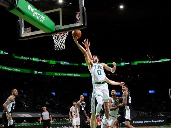 Bintang muda Boston Celtics, Jayson Tatum. (Images: Getty)