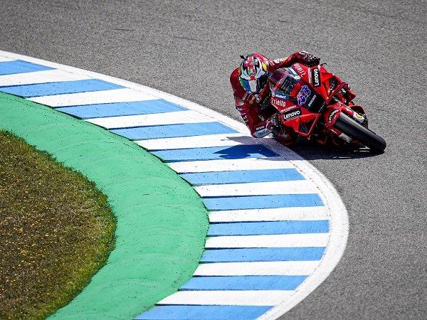 Jack Miller rajai balapan di MotoGP Spanyol.