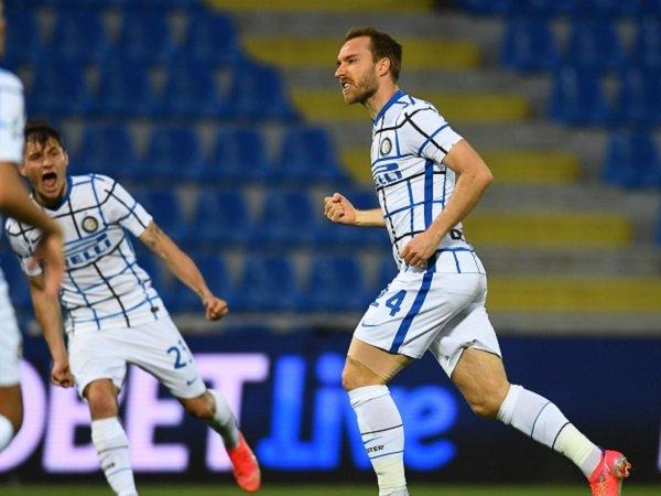 Inter Milan tinggal selangkah lagi amankan Scudetto.