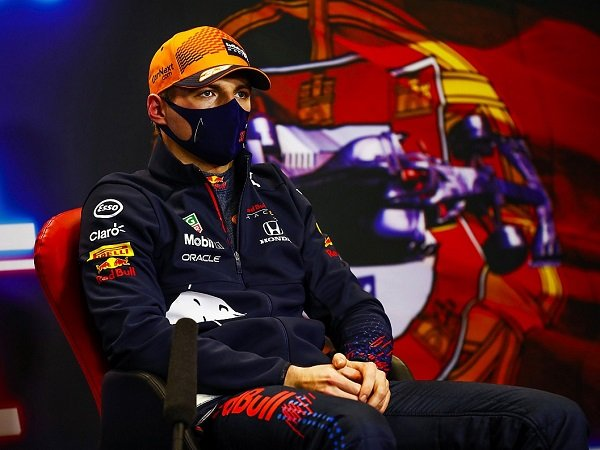 Max Verstappen kecewa gagal pole position di GP Portugal.