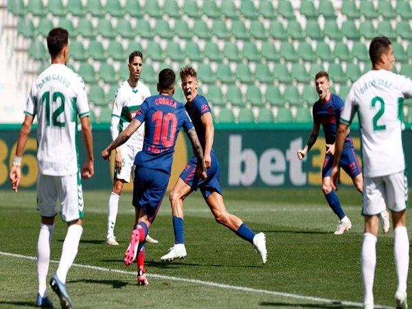 Atletico Madrid menang 1-0 vs Elche
