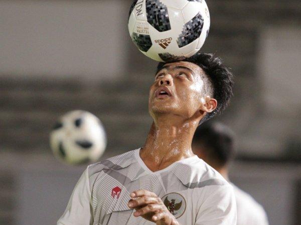 Pratama Arhan berlatih bersama timnas Indonesia
