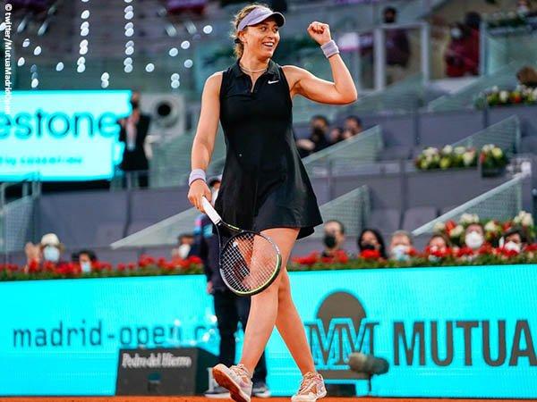 Paula Badosa tembus babak ketiga Madrid Open 2021