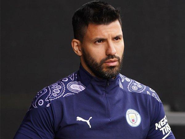Striker Manchester City, Sergio Aguero.