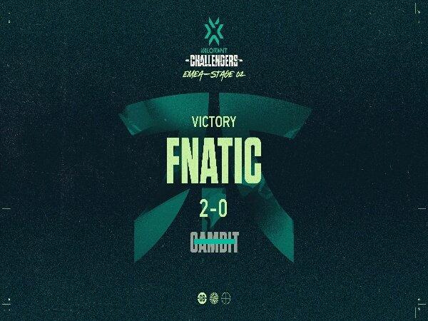 Susul Team Liquid, Fnatic Wakil Eropa Kedua di VALORANT Masters Two