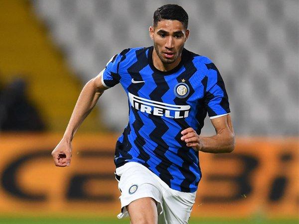 Pemain sayap Inter Milan, Achraf Hakimi.