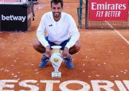 Albert Ramos Vinolas Naik Podium Juara Di Estoril