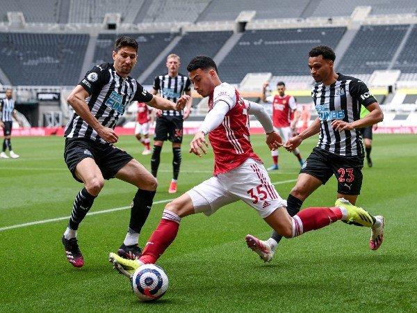 Gabriel Martinelli tampil gemilang melawan Newcastle United
