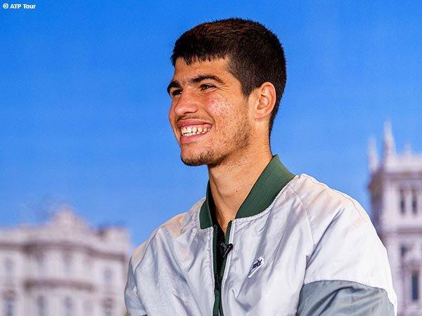 Carlos Alcaraz ingin menantang Rafael Nadal Di Madrid Open 2021