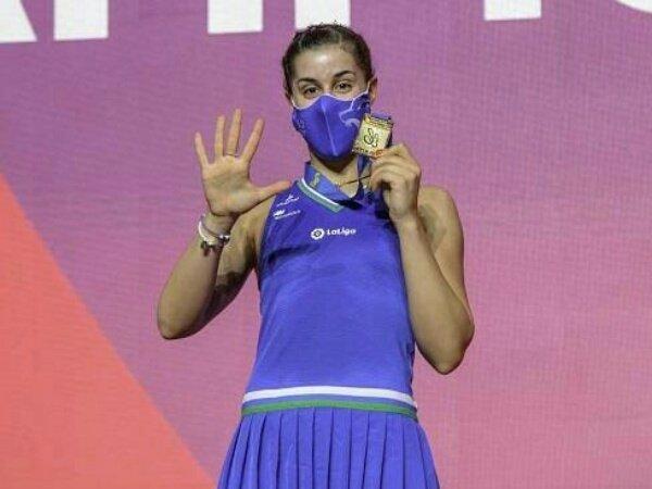 Carolina Marin Raih Rekor Lima Kemenangan Beruntun di Kejuaraan Eropa