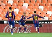 Dwigol Lionel Messi Bantu Barcelona Jaga Asa Juarai La Liga
