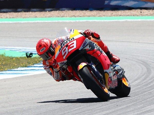 Marc Marquez sudah kerahkan kemampuan maksimalnya di GP Spanyol.