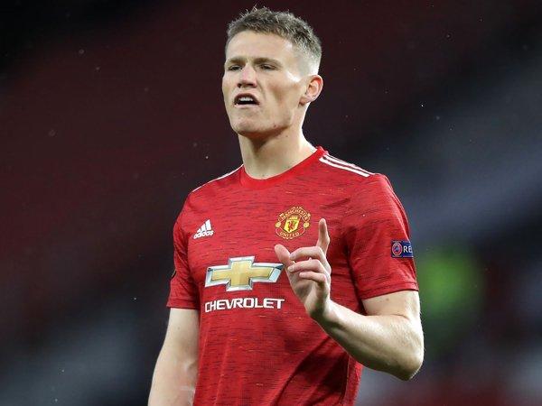 Gelandang Manchester United, Scott McTominay.