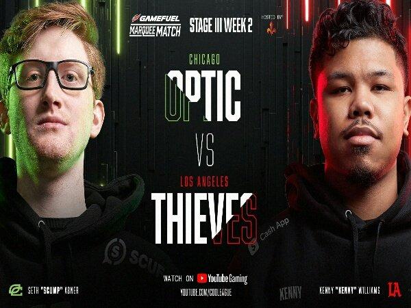 LA Thieves Buat OpTic Chicago Telan Kekalahan Perdana di CDL 2021 Stage 3