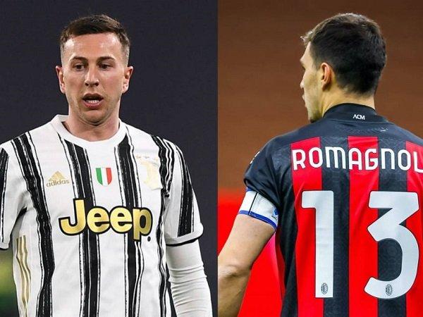 Milan tahan barter Romagnoli-Bernardeschi