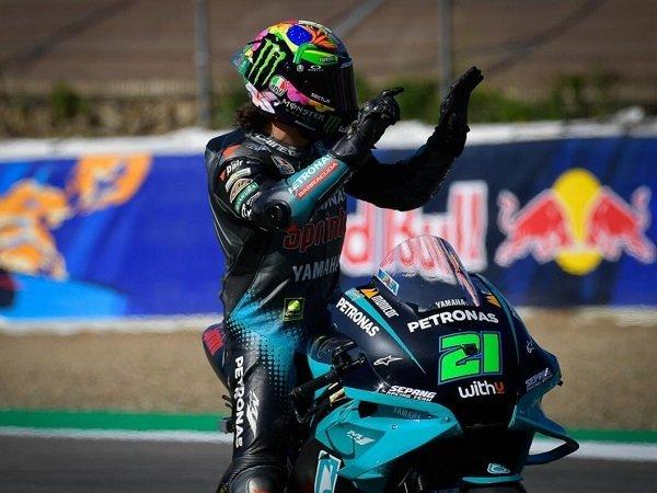 Franco Morbidelli apresiasi kerja keras timnya usai tembus podium perdana di Jerez.