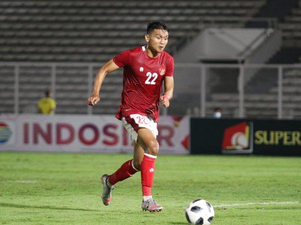 Dendy Sulistyawan saat memperkuat timnas Indonesia