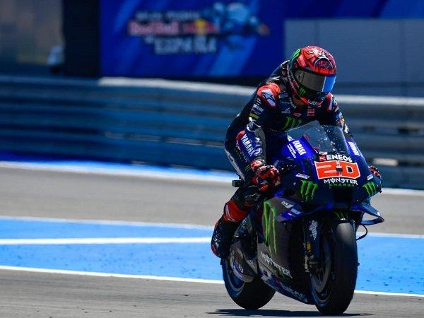 Fabio Quartararo ungkap penyebab penurunan kecepatannya di GP Spanyol.