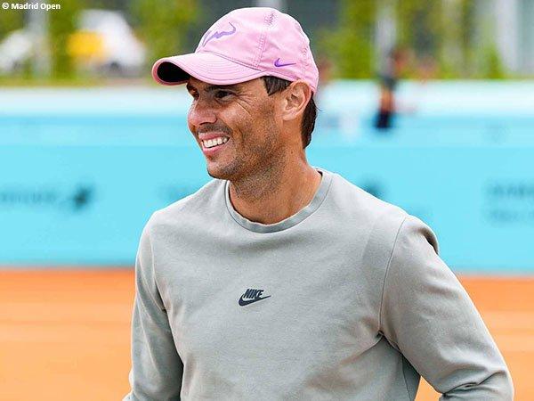 Rafael Nadal akan tampil di Madrid Open 2021 sebagai petenis unggulan pertama