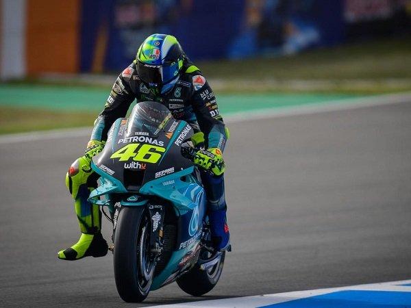 Valentino Rossi beberkan penyebabnya gagal optimal di Jerez.