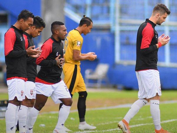 Latihan skuat Borneo FC